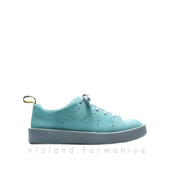 کفش کتونی سنسور سبز آبی